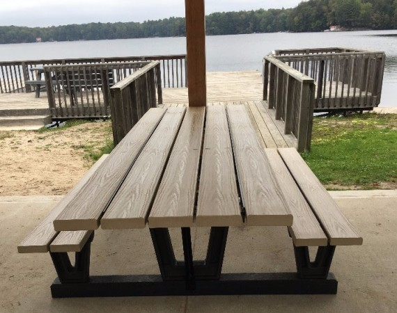 Accessible Picnic Table Donation